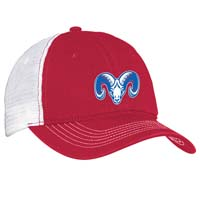 Riverside Mesh Back Cap - Redl/White