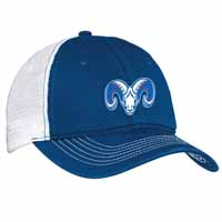 Riverside Mesh Back Cap - Royal/White