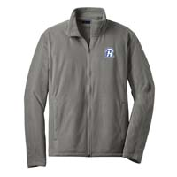 STAFF - Men's Microfleece Jacket - Pearl Grey