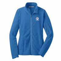 STAFF - Ladies Microfleece Jacket - Light Royal