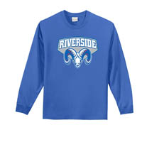 Riverside Long Sleeve T-shirt - Royal
